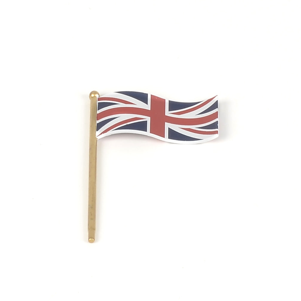 Buckingham Palace British Flags Set of 2