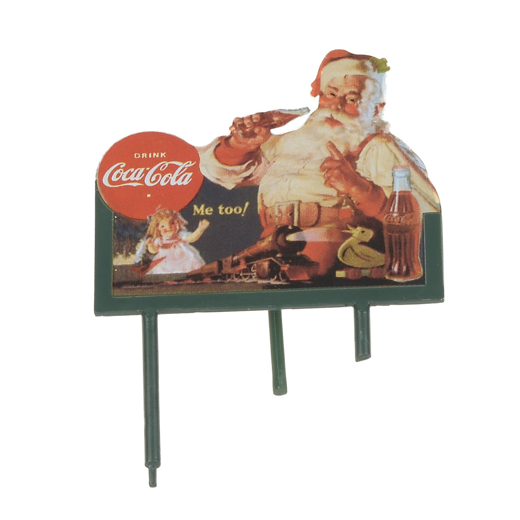 Coca Cola Soda Fountain Billboard