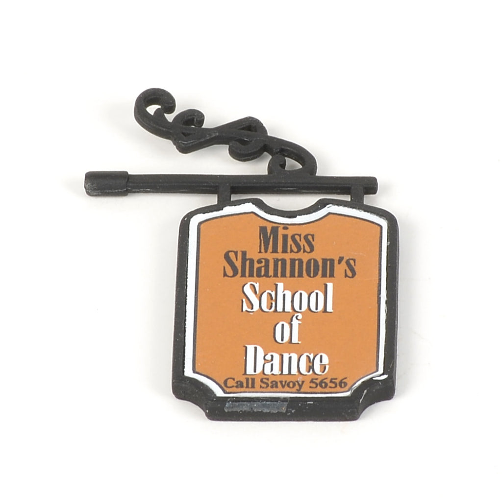 Miss Shannon's School of Dance Sign