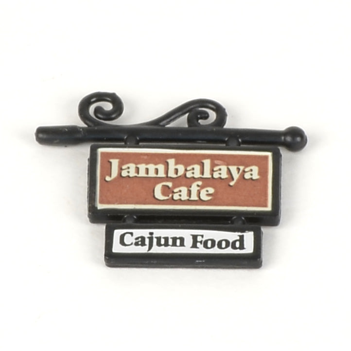 Jambalaya Cafe Sign