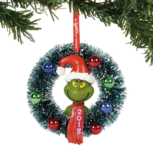 2018 wreath ornament sale