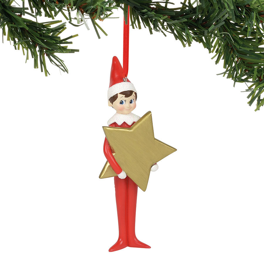 Personalizable Star Ornament
