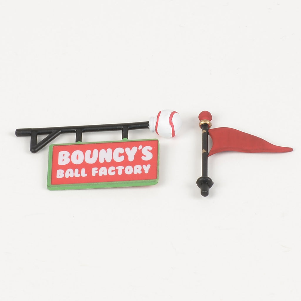 Bouncy's Ball Factory Sign