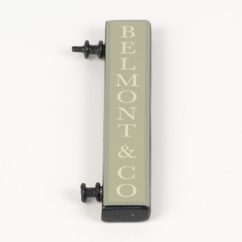 Belmont & Co. Sign
