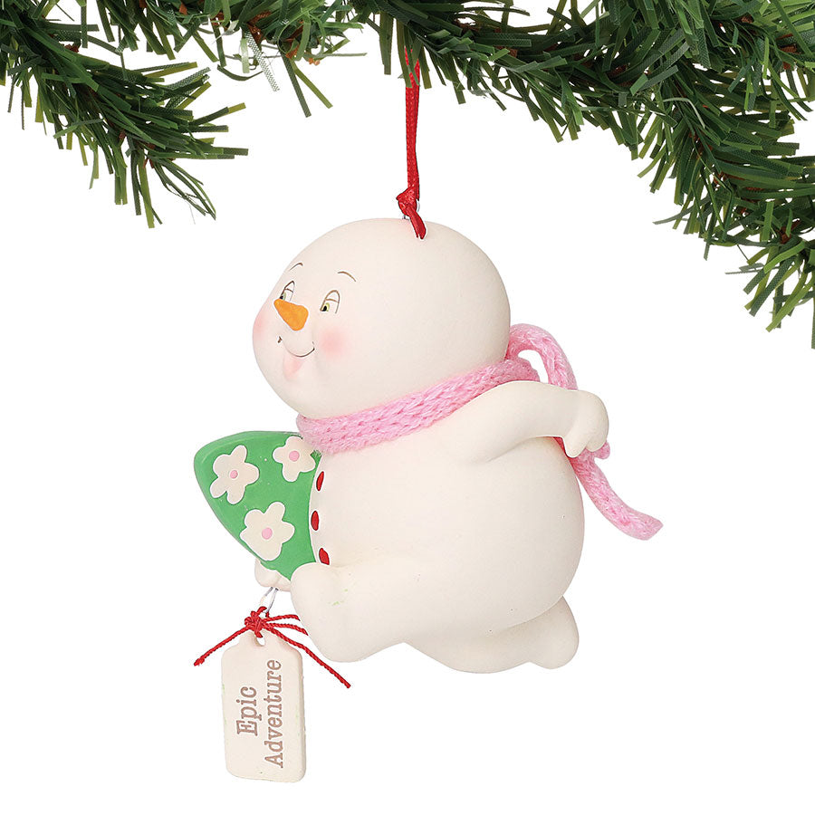 SNOWP Epic Adventure Ornament