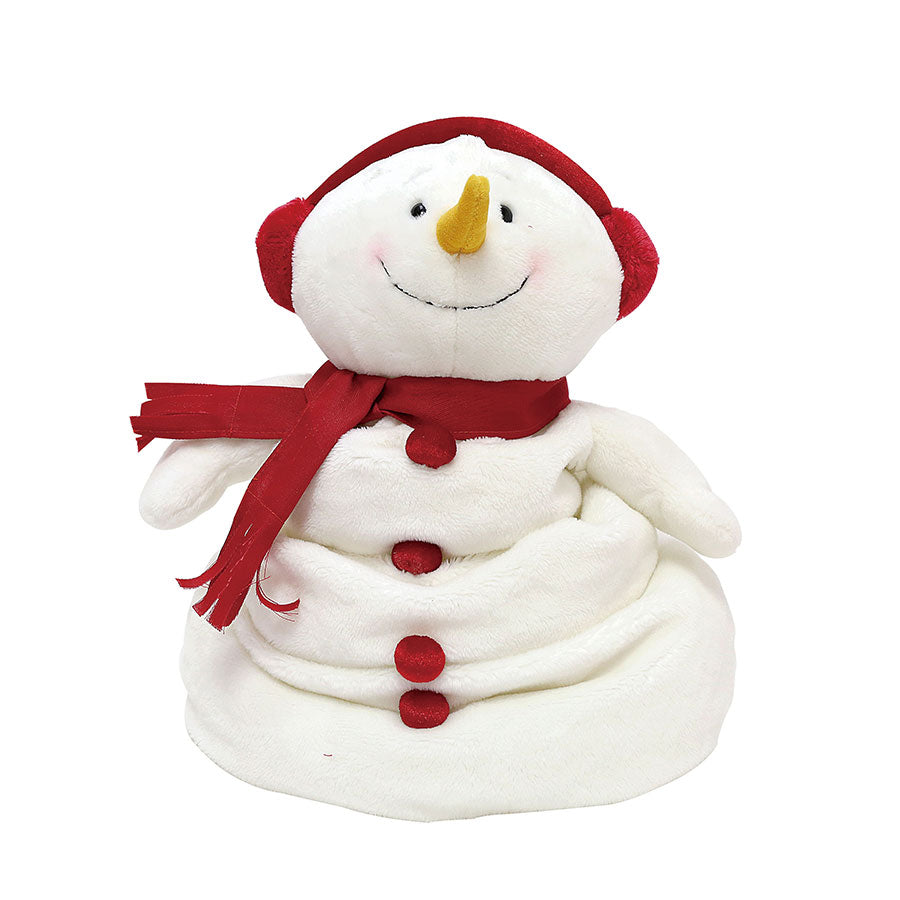 Animated Melting Snowman