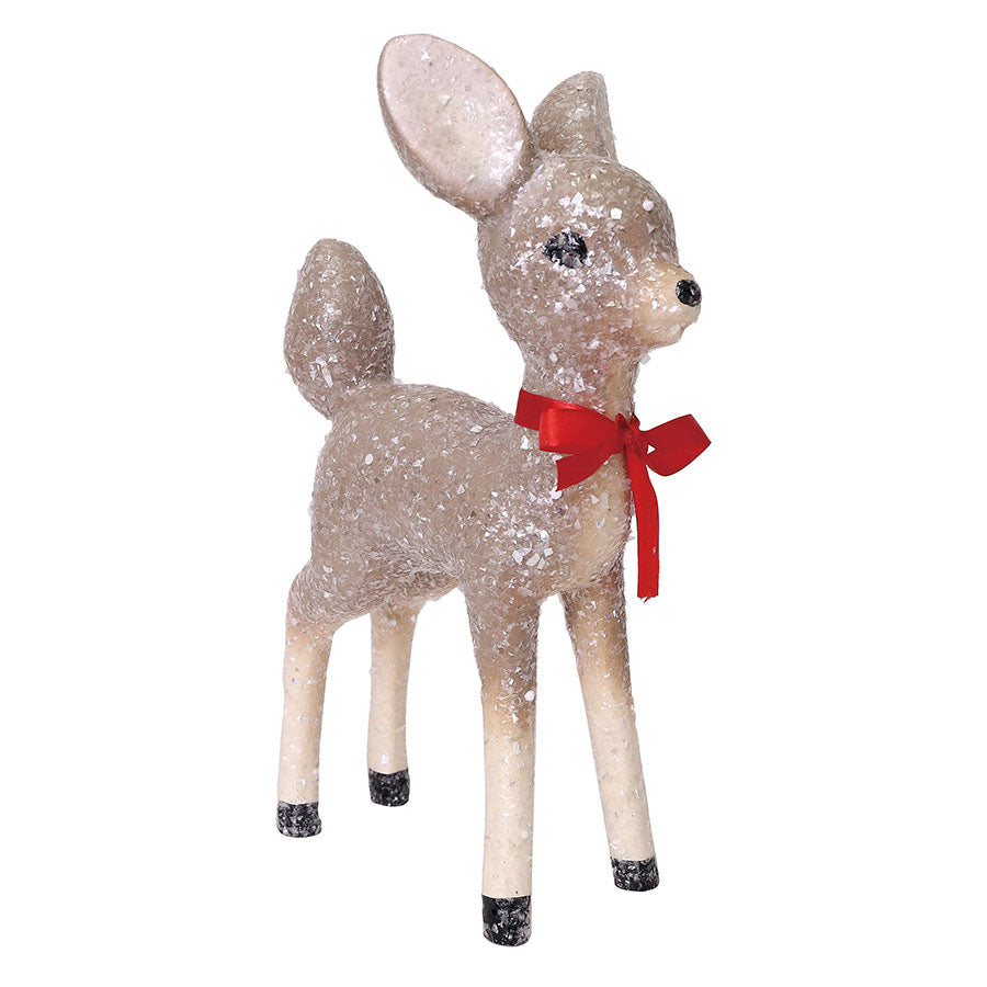 Deer with Bow Figure