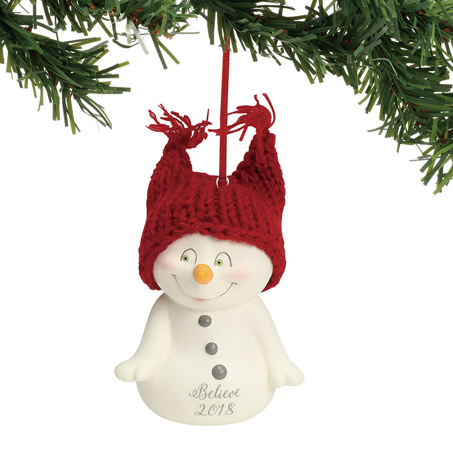Believe, 2018 Ornament