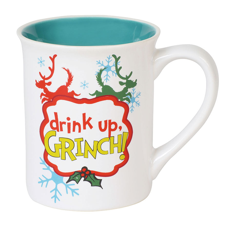 Drink Up Grinch Mug