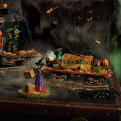 Snow Village Halloween Witch Hollow Supply Car 6002302 – Department