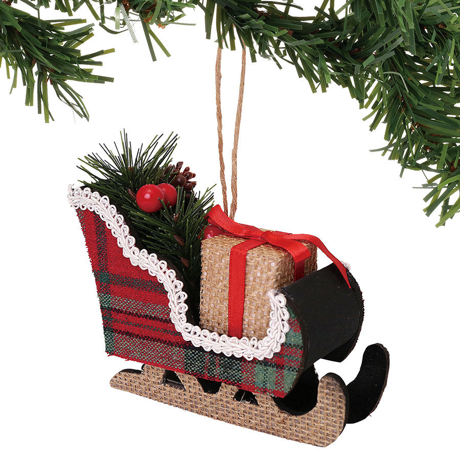 XMBAR Winter Sleigh Ornament
