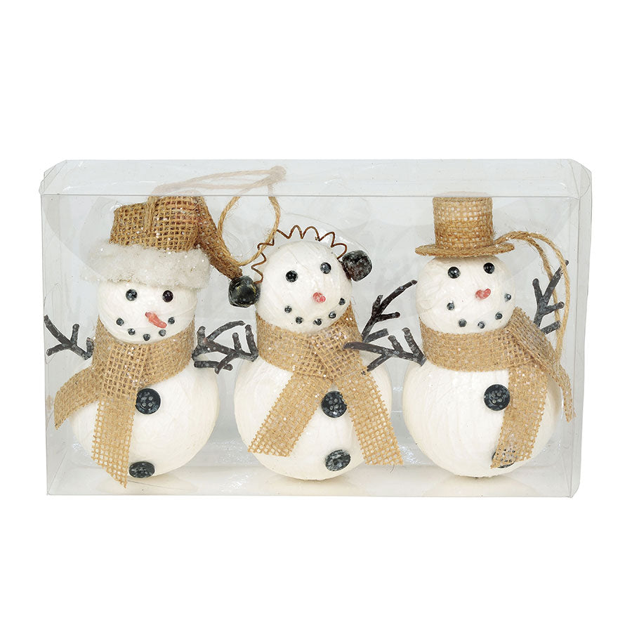 XMBAR Jolly Snowman Ornament