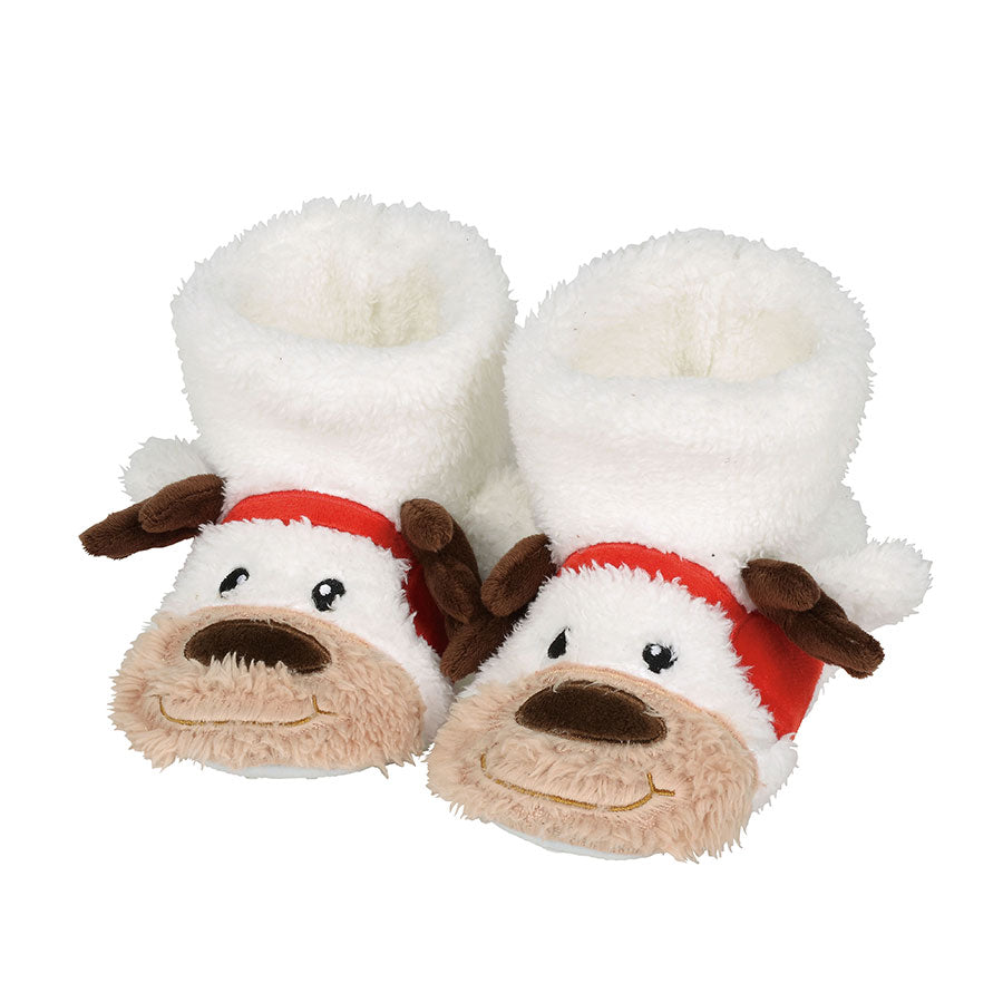 Reindeer Slipper, Child Large
