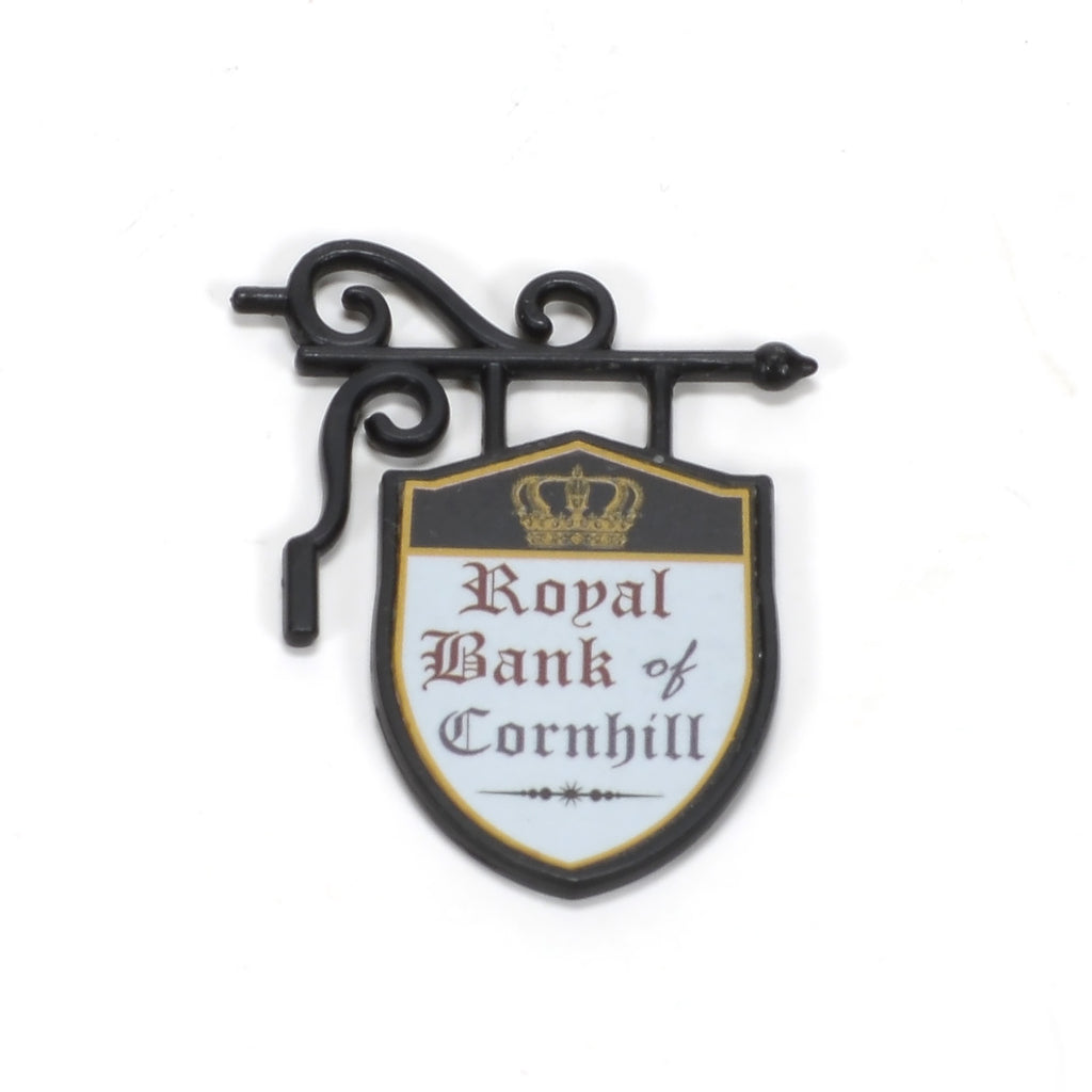 Royal Bank of Cornhill Sign