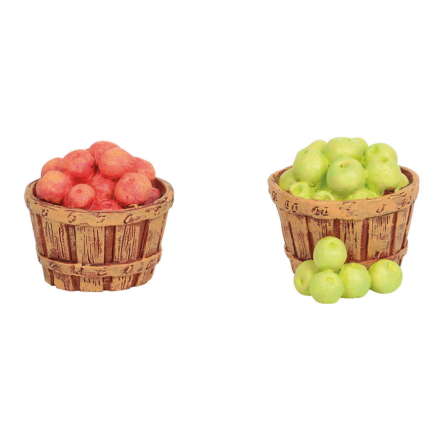 Village Baskets of Apples