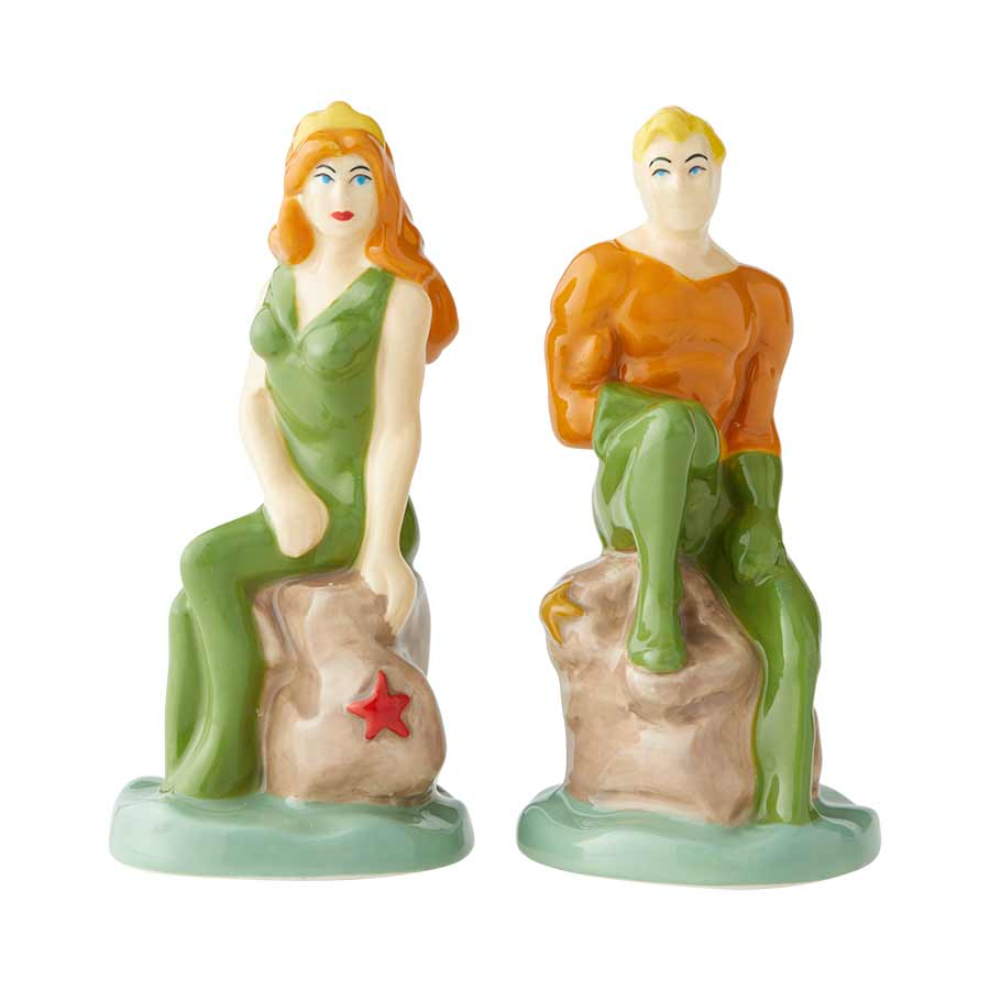 Aquaman & Mera Salt and Pepper