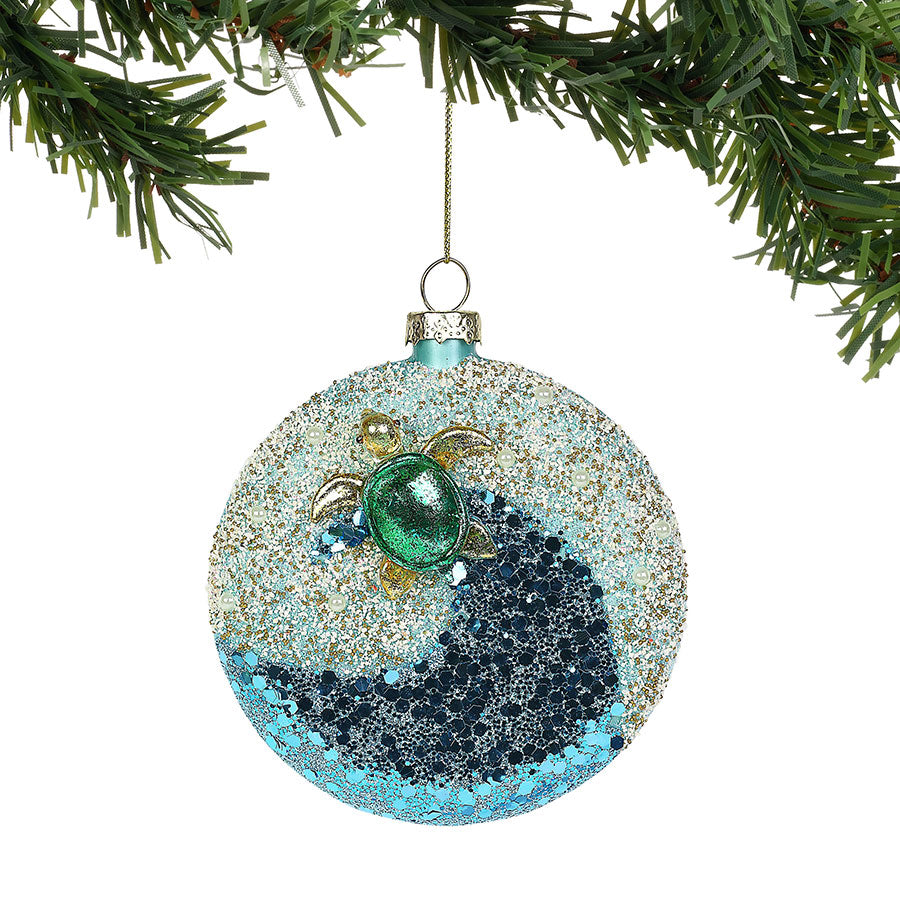COAST Turtle Wave Ornament