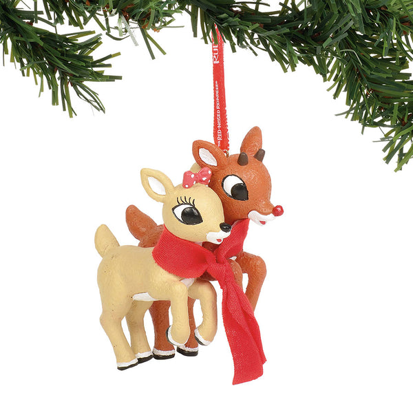 Bumble Felt Ornament Dept 56 Rudolph The Red Nosed Reindeer Christmas New