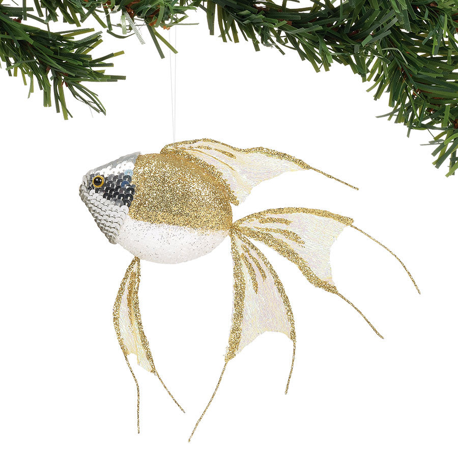 COAST GOLD SPARKLE FISH ORN
