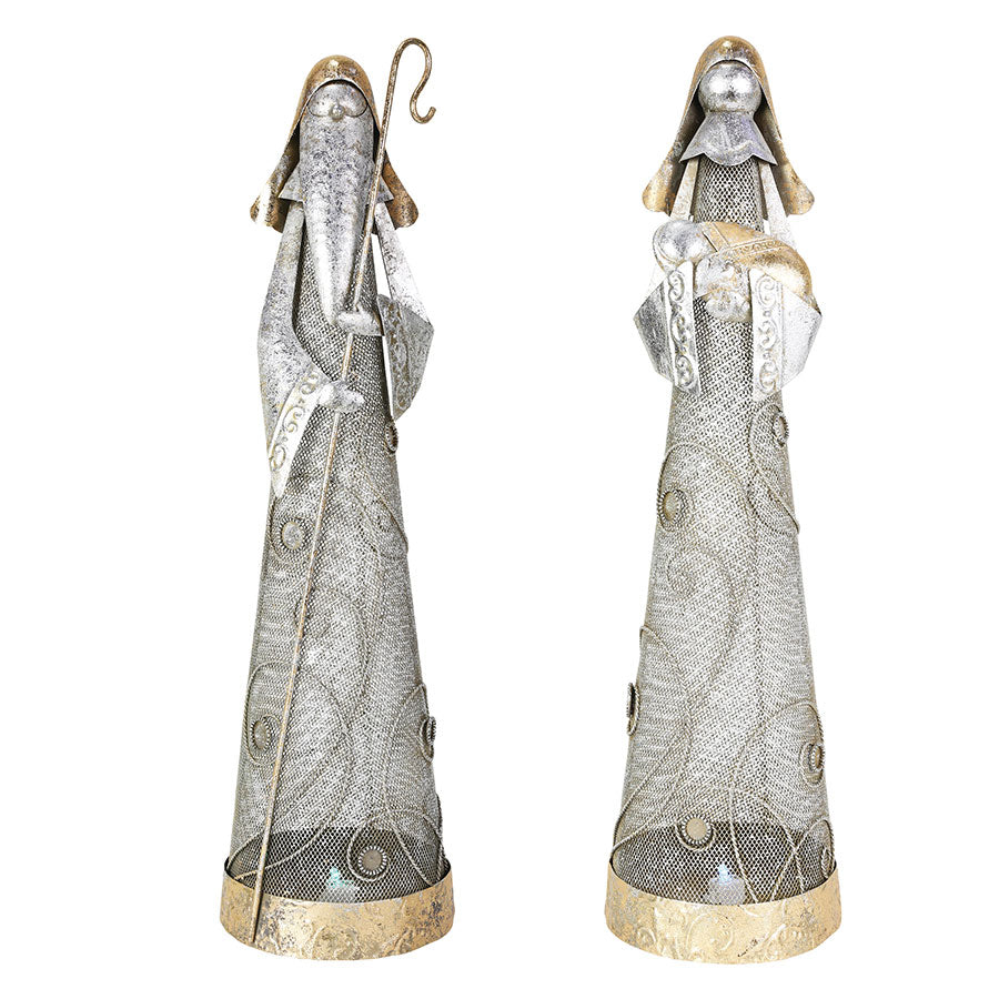 CLAXM METAL MARY JOSEPH SET2