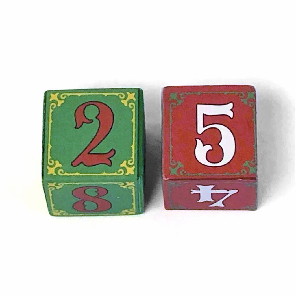 Wooden Number Blocks (Set of 2)