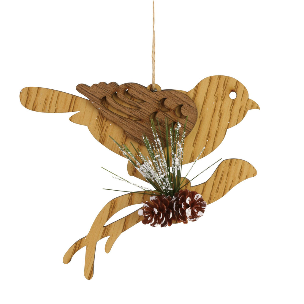 Bird on Branch Ornament