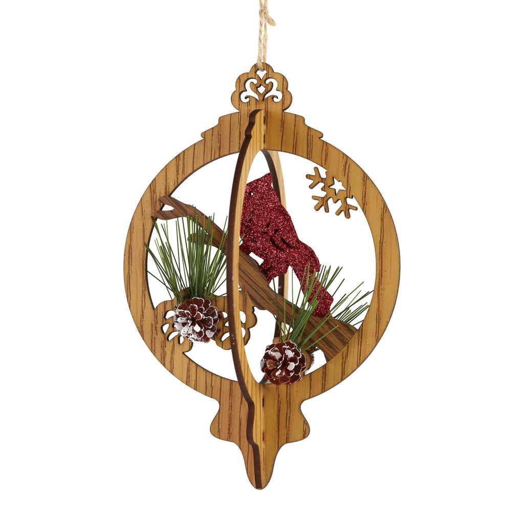 Finial Cardinal Ornament