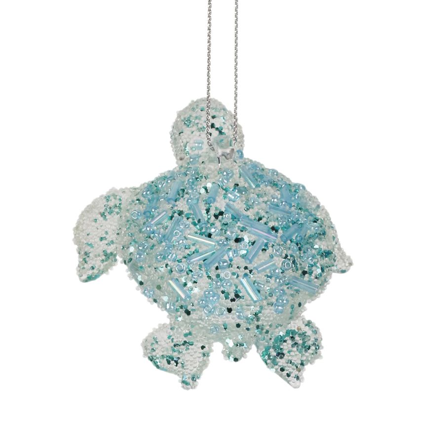 Beaded Turtle Ornament