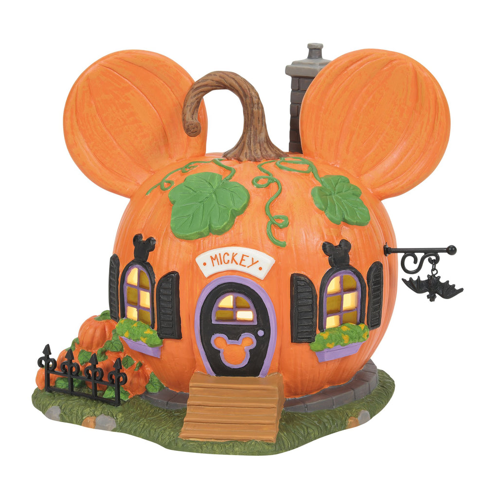 Mickey's Pumpkintown House