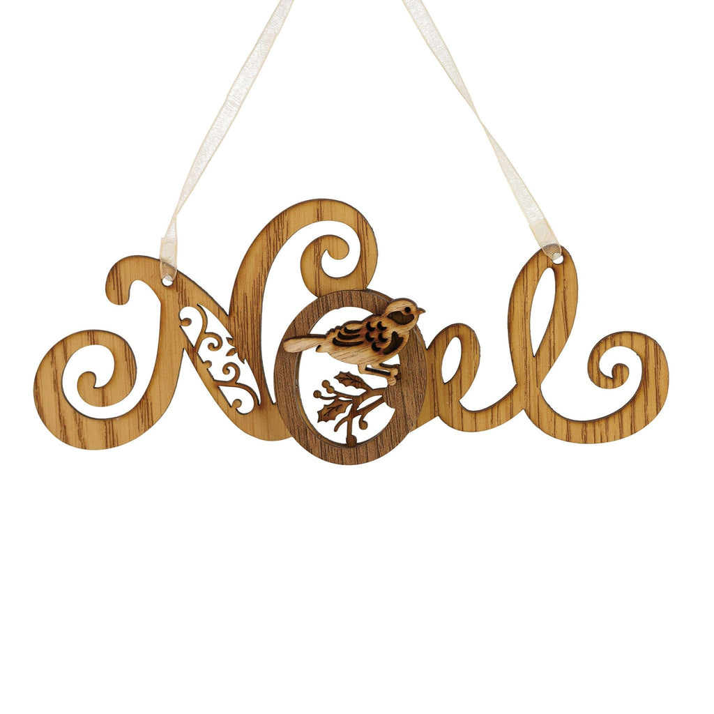 Filigree Noel Ornament