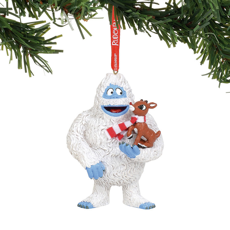 Bumble with Rudolph Ornament