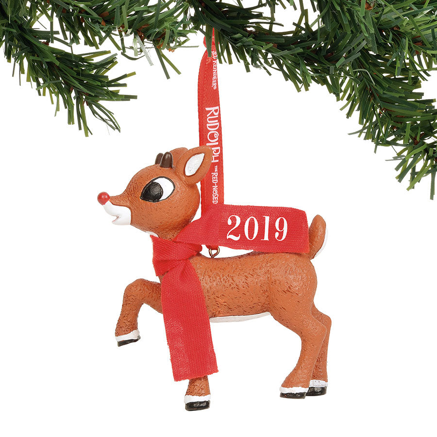 Rudolph 2019 Dated Ornament