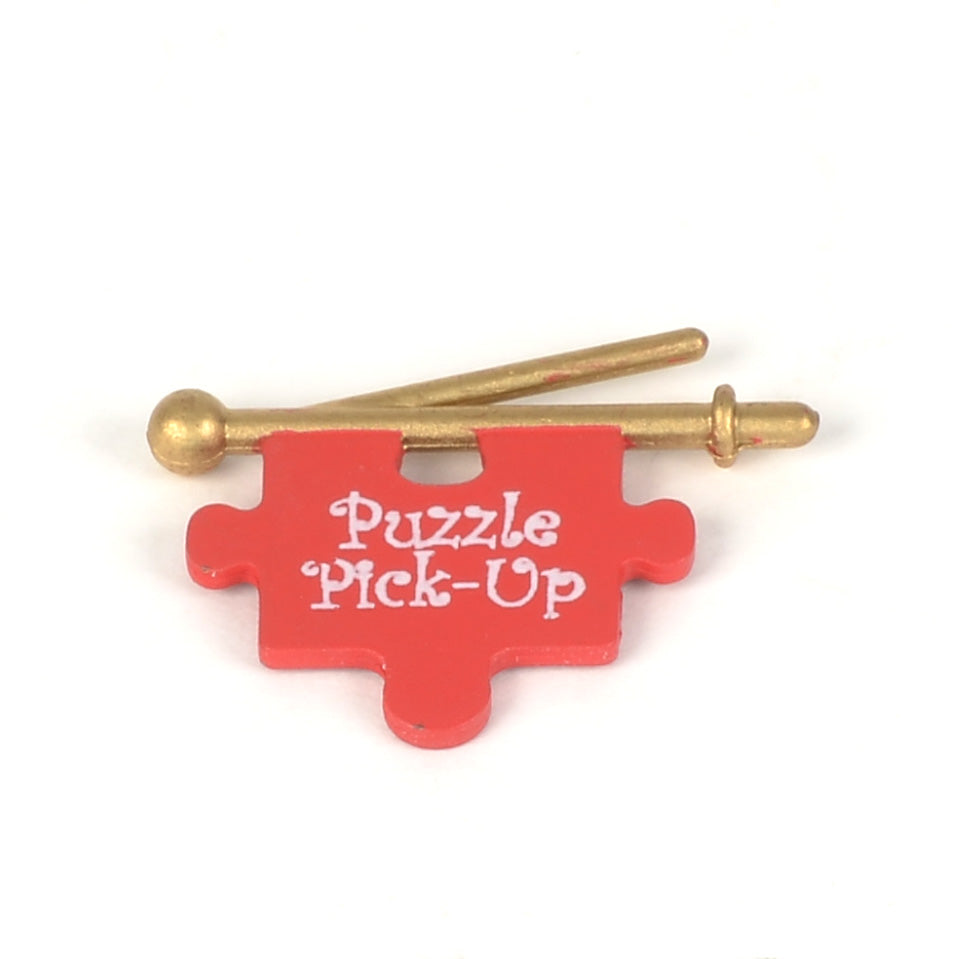 Jolly's Jigsaw Puzzle Workshop Puzzle Pick-Up Sign