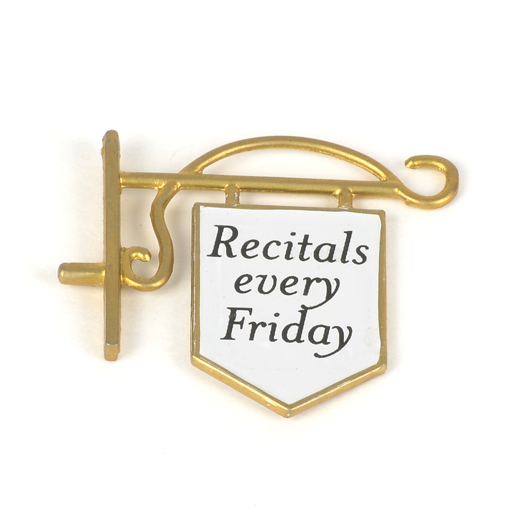 "Twinkle Toes Ballet Academy ""Recitals every Friday"" Sign"