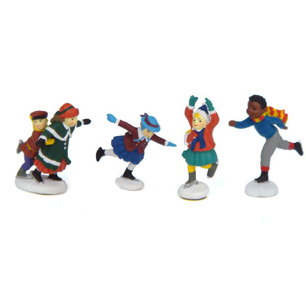 Set of 4 Skaters