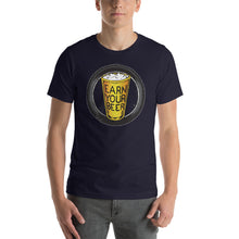 Load image into Gallery viewer, TIRE // Earn Your Beer // Short Sleeve Unisex
