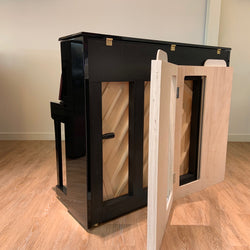 Piano acoustic silent system
