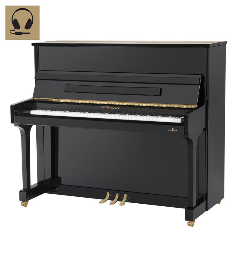 Perzina piano UP-122 met silent systeem