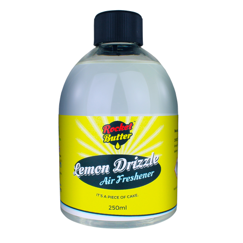 Rocket Butter Lemon Drizzle Air Freshener Spray 250ml