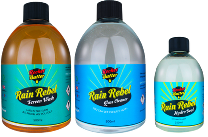 Rocket Butter Rain Rebel Triple Pack