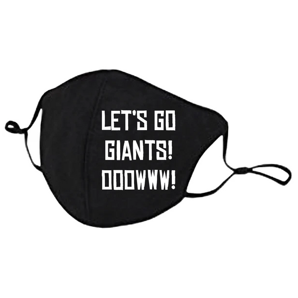 Lets Go Giants Mask