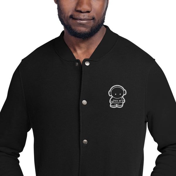 DressComfy Embroidered Champion Bomber Jacket