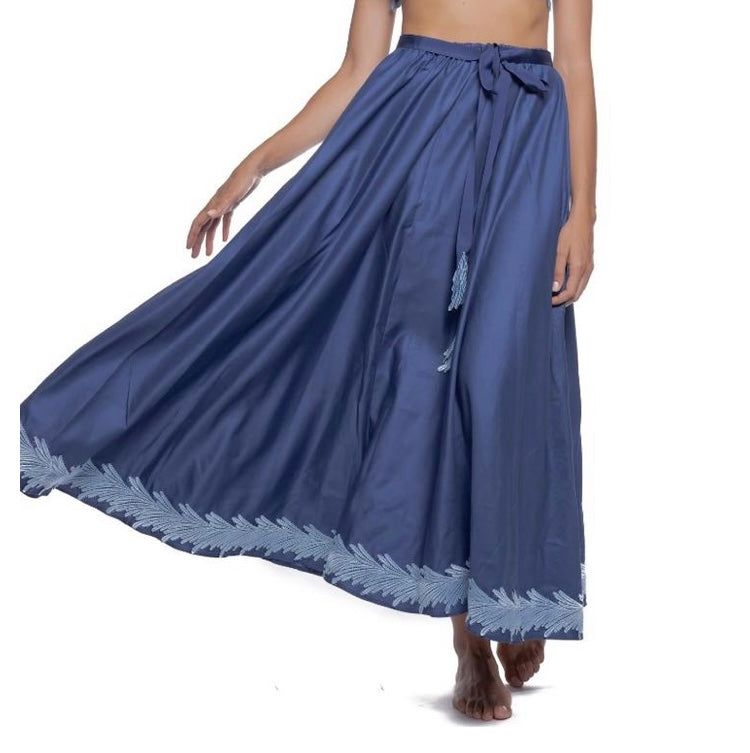 Angel skirt blu m last