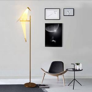 Bird Inspired Floor Lamp