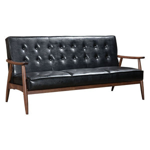Zuo Rocky Sofa Black