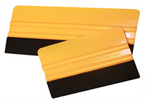 "Squeegee • 6"" Yellow Felt Squeegee"