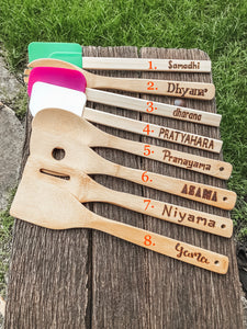 Customized Wooden Spoons/Spatulas -Set of 5