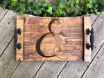 Hand-Made Monogram Tray