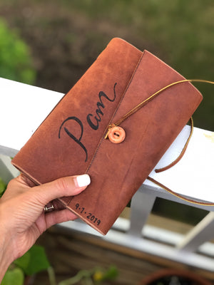 Rustic Leather Journals