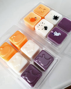 HALLOWEEN CLAMSHELL (Candy Corn, White Witch, Hubble Bubble)